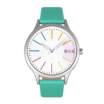 Crayo Gel Silver Dial Watch CRACR5102