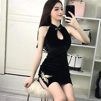 Frauen engen chinesischen Stil Cheongsam Qipao formale Kleid