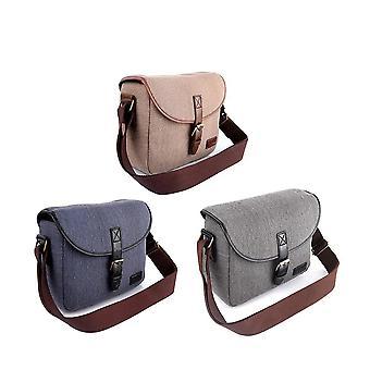 Camera tas slr / dslr gadget stijlvolle retro schouder dragen fotografie accessoire gear case