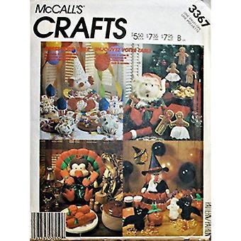McCalls naaien patroon 3367 home decorating jurk uw tafel Kerstmis Halloween