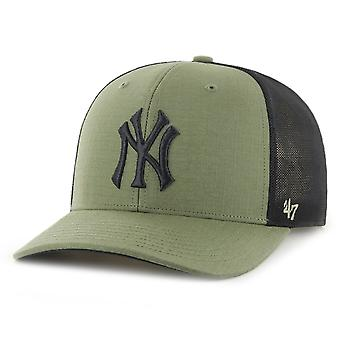 47 מותג פרופיל נמוך Ripstop כובע - GRID ניו יורק יאנקיז