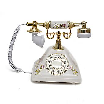 Antique Style Rotary Phone Princess French Style Old Fashioned Handset Telephone Tc-510