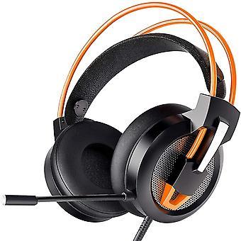 Wokex Headset PC, Gaming Headset PS4 Xbox Headset mit Noise Cancelling Mikrofon, Bass Surround