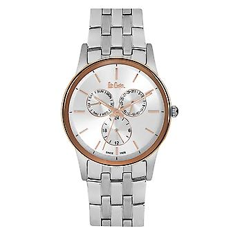 Mäns Watch Lee Cooper Silver Sundial Watch - LC06498.530