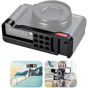 Kamera-Halterung für Sony ZV1 Zubehör Erweiterungswinkel Grundplatte für ZV-1 w Kaltschuh