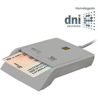 FengChun Elektronische ID Reader Wei - elektronische ID-Leser, ID 3.0, kompatibel mit PC und MAC