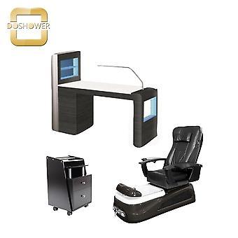 تصميم صالون أثاث سبا باديكير الكراسي مع صالون الأثاث