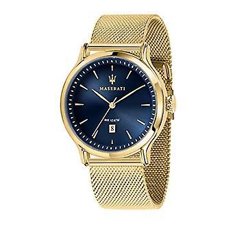 Mens Watch, Epoca-mallisto, analoginen, teräs ja keltainen kulta PVD-R8853118014