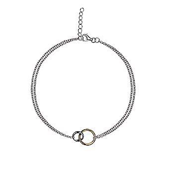 Eudora - Eternal Links Icons Bracelet - Prolongateur 16cm + 2cm - Argent - Cadeaux bijoux pour femmes de Lu Bella