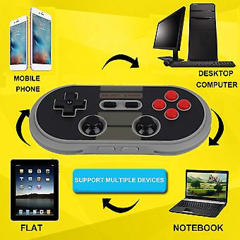 Portable 8bitdo Nes30 Pro Bluetooth Wireless Game Controller Full Buttons