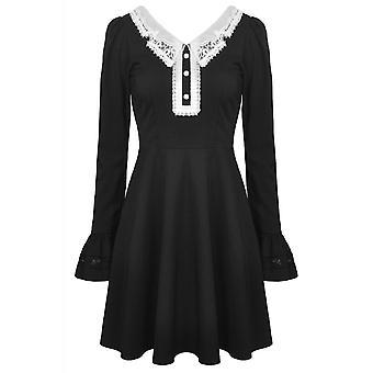 Dark In Love Gothic Lolita Doll Long Sleeve Dress