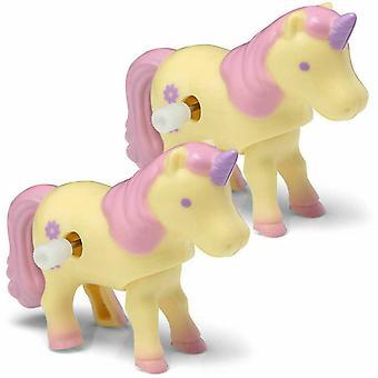 Tobar 21939 Plast Urverk Wind Up Unicorn Diverse Pack Of 1