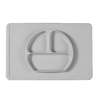 Plaque de silicone smiley grise plaque de silicone une pièce plaque antidérapante antidérapante dt7802