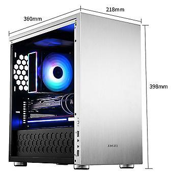 Jonsbo C3 Plus-Silver/okno Micro ATX