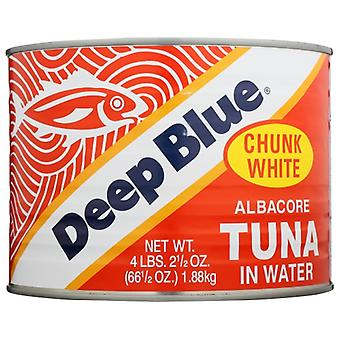 Deep Blue Tuna Chunk Albacore, Case of 6 X 4 lb