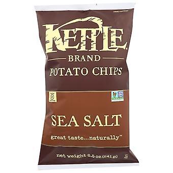 Kettle Foods Chip Pto Ntrl Lit Salt, Case of 12 X 8.5 Oz