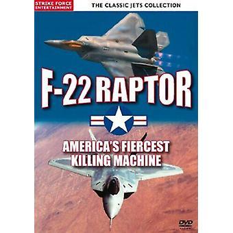 F-22 Raptor - Americas Finest DVD (2010) cert E Region 2