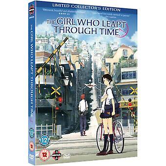The Girl Who Leapd Through Time DVD (2010) Mamoru Hosoda cert 12 2 discos Região 2