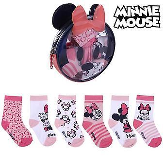 Socks Minnie Mouse (5 pairs) Multicolour