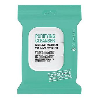 Make Up Remover Wipes Purifying Cleanser Comodynes