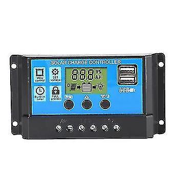 30a фотоэлектрический солнечный контроллер, интеллектуальный контроллер зарядки и разрядки цепи света