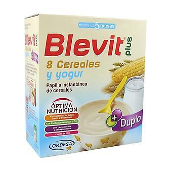 Blevit Plus Duplo 8 Cereals and Yogurt 5m + 600 g