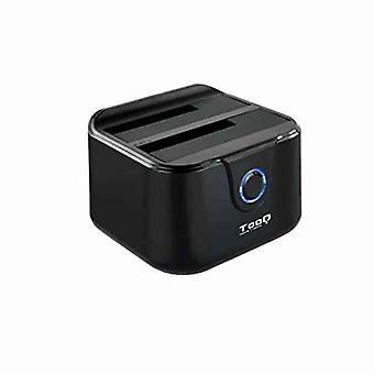 """Dual Dock Station TooQ TQDS-802B 2.5"""" / 3.5"""" SATA USB 3.0 Black"""