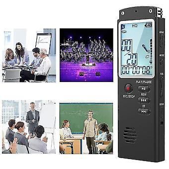 8Gb digital voice recorder voice activated spy sound audio recorder palyback dictaphone zf0288