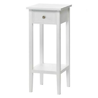Accent Plus White Accent Table or Plant Stand, Pack of 1