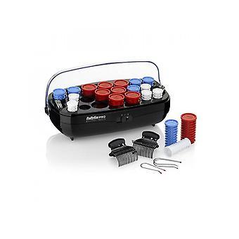 BaByliss Pro BAB3045U 20 stykke kompakt keramisk oppvarmet Hårruller curlingspillere sett