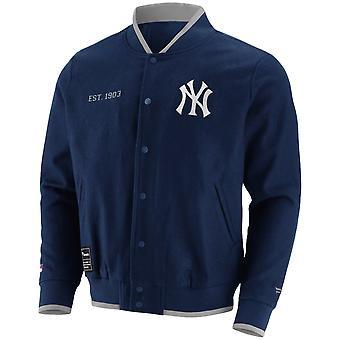 Fleece Letterman MLB College Veste - New York Yankees