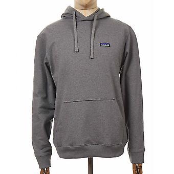 Patagonia P-6 Label Uprisal Hooded Sweatshirt - Gravel Heather