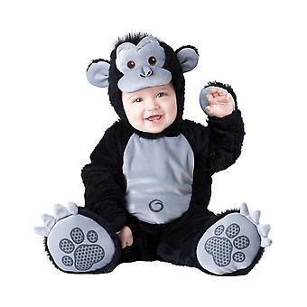 Goofy Gorilla Monkey Ape Animal Deluxe Baby Boys Infant Costume