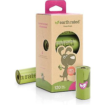 Earth Rated Dog Poop Bags,15 Doggy Bags Per Roll, 9 x 13 Inches
