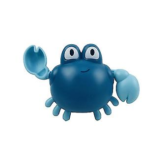 Bath toys crab baby bath toys bathtub shower toys for toddlers kids boys girls 12x5x9cm blue