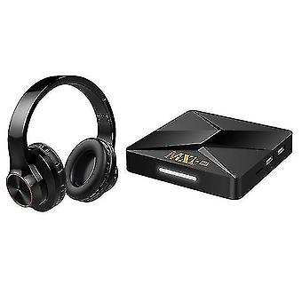 Audio converters wireless binaural bluetooth headset with mx1-se tv box rk3228a android 9.0 Network player 1gb+8gb
