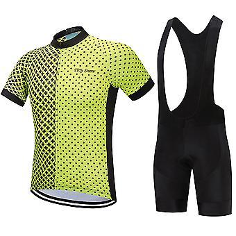 Summer Man Cycling Jerseys Set Anti-uv Cycling Clothes Quick Drying Maillot Ropa Ciclismo Hombre