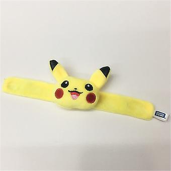 Plüsch Pikachu Hand Lineal Spielzeug Kawaii Süße weiche Glückspuppe Mini Spielzeug ist ein Geschenk für Kinder