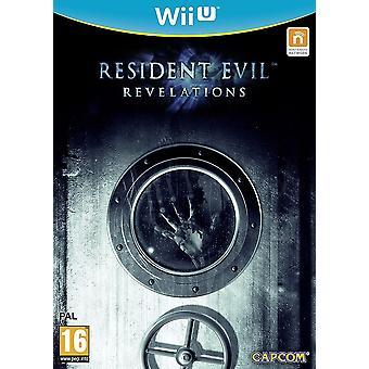 Resident Evil Revelations Videospiel für Wii U