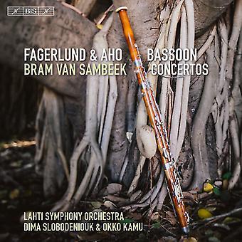 Aho / Fagerlund / Sambeek / Kamu / Slobodeniouk - Fagerlund & Aho: fagot Concertos [SACD] USA import