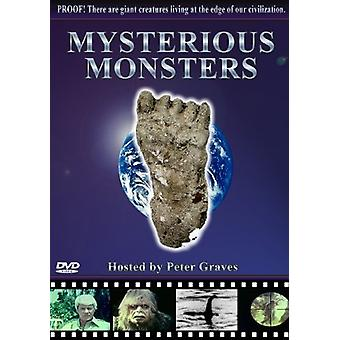 Mysterious Monsters [DVD] USA import