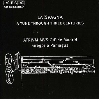 Gregorio Paniagua - La Spagna, 15e, 16e, 17e eeuw [CD] USA import
