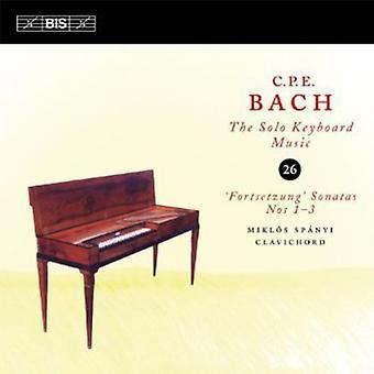J.S Bach - C.P.E. Bach: La musique pour clavier Solo, importation USA Vol. 26 [CD]