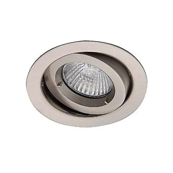 Ansell ICage Mini Adjustable Downlight 50W GU10 Satin Chrome
