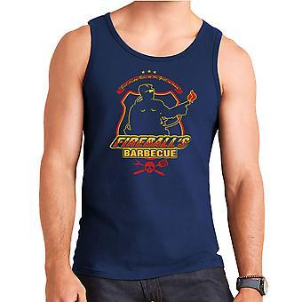 Fireballs BBQ Running Man Men's Vest