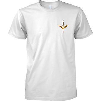 Ejército australiano Op especial comando - 1er Regimiento - pecho de hombre diseño camiseta