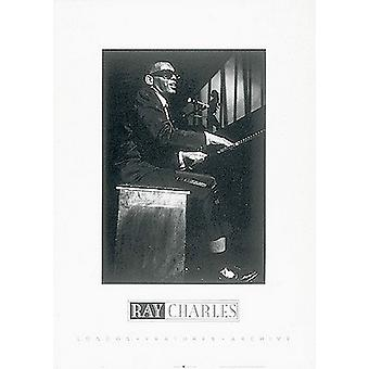 Ray Charles Poster drucken (20 x 28)