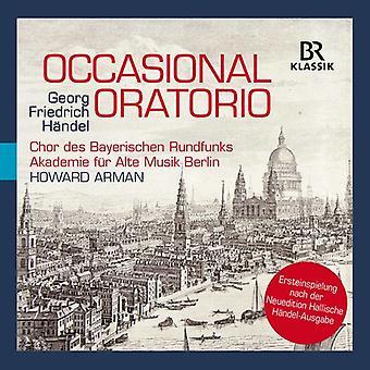 Handel / Arman / Harvey - Handel: Occasional Oratorio [CD] USA import