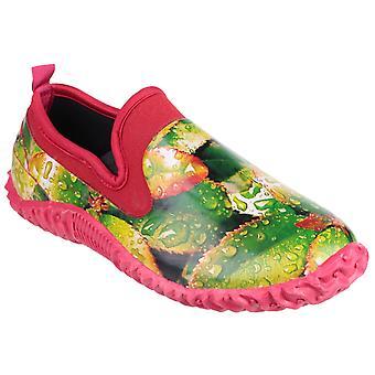 Cotswold Womens Tindal Deslizamento impermeável na folha de sapato de jardim