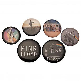Roze Floyd knop Badge Set